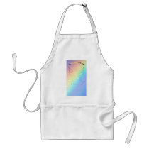 Sarcoma Moms are as Pretty As A Butterfly Adult Apron