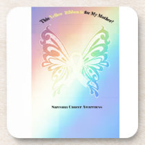 Sarcoma Moms are as Pretty As A Butterfly Coaster