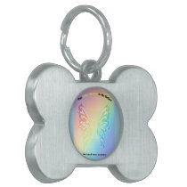 Sarcoma Moms are as Pretty As A Butterfly Pet Tag