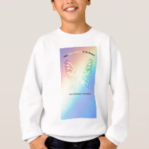 Sarcoma Moms are as Pretty As A Butterfly Sweatshirt