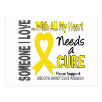 Sarcoma Needs A Cure 3 Postcard