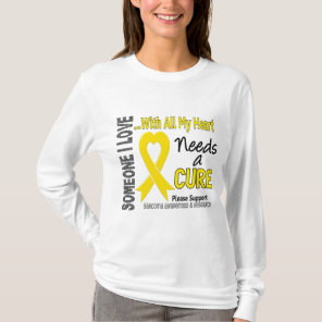 Sarcoma Needs A Cure 3 T-Shirt