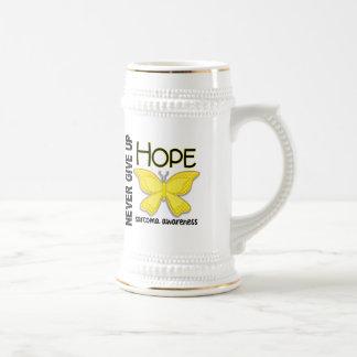 Sarcoma Never Give Up Hope Butterfly 4.1 Mug