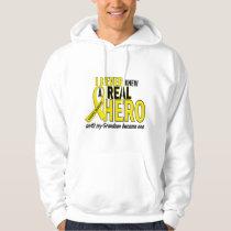 Sarcoma NEVER KNEW A HERO 2 Grandson Hoodie