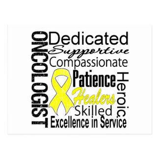 Sarcoma Oncologist Collage Postcard