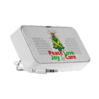 Sarcoma Peace Love Joy Cure Travelling Speakers
