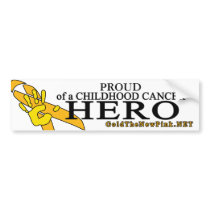 "Sarcoma - ""Proud"" Bumper Sticker"