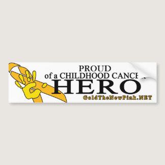 "Sarcoma - ""Proud"" Bumper Sticker"