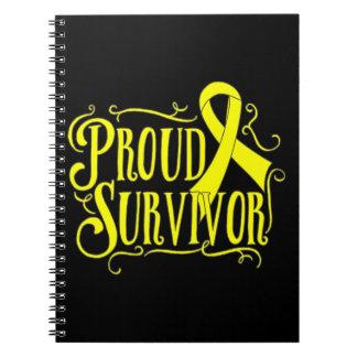Sarcoma Proud Survivor Spiral Notebook