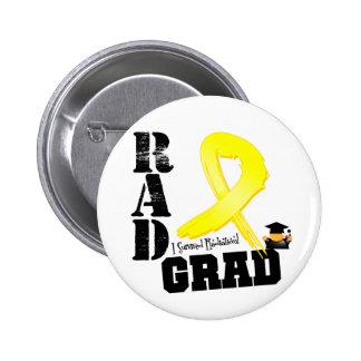 Sarcoma Radiation Therapy RAD Grad Pinback Button