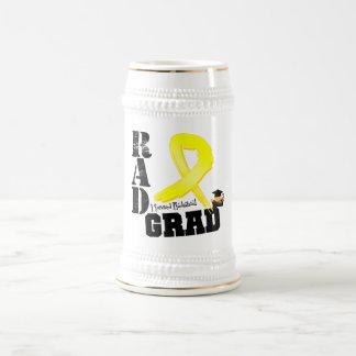 Sarcoma Radiation Therapy RAD Grad 18 Oz Beer Stein