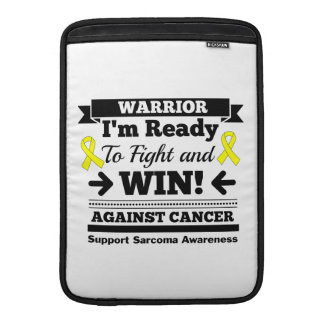 Sarcoma Ready To Fight and Win Sleeve For MacBook Air