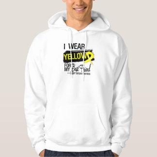 Sarcoma Ribbon For My Best Friend Sweatshirts