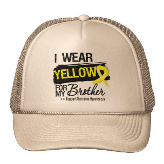 Sarcoma Ribbon For My Brother Mesh Hat