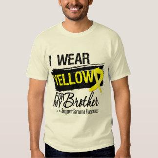 Sarcoma Ribbon For My Brother Tshirts