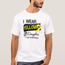 Sarcoma Ribbon For My Daughter T-Shirt