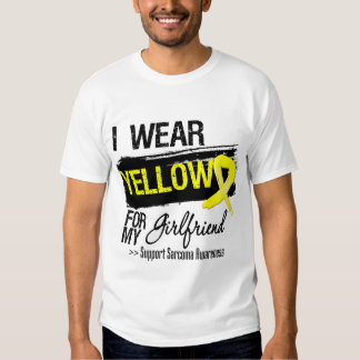 Sarcoma Ribbon For My Girlfriend T Shirt