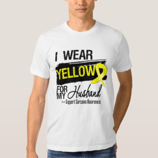Sarcoma Ribbon For My Husband Shirt