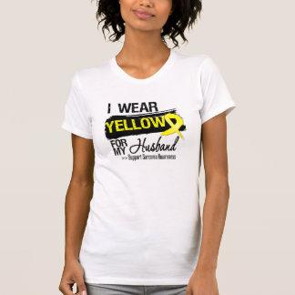 Sarcoma Ribbon For My Husband T Shirt
