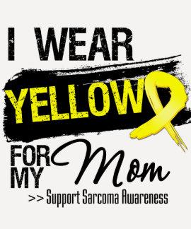 Sarcoma Ribbon For My Mom Tshirts