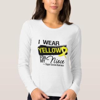 Sarcoma Ribbon For My Niece T-shirts