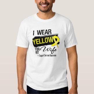 Sarcoma Ribbon For My Wife Shirt