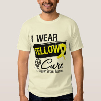 Sarcoma Ribbon For The Cure T-shirt