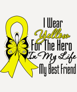 Sarcoma Ribbon My Hero My Best Friend Shirt