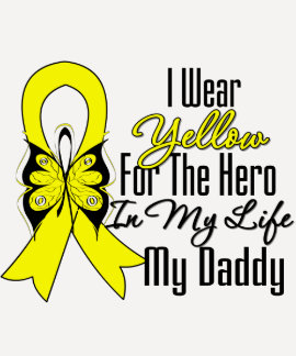 Sarcoma Ribbon My Hero My Daddy T-shirt
