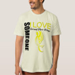 Sarcoma Someone I Love Earned Their Wings T-Shirt