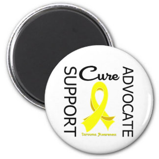 Sarcoma Support Advocate Cure 2 Inch Round Magnet