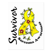 Sarcoma Survivor 15 Postcard