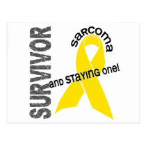 Sarcoma Survivor 1 Postcard