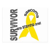 Sarcoma Survivor 1 Postcard