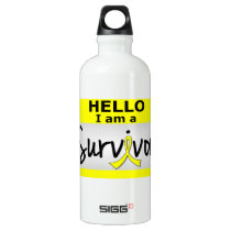Sarcoma Survivor 24.png Water Bottle