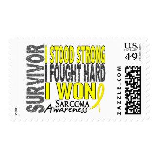 Sarcoma Survivor 4 Stamps