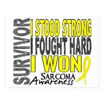 Sarcoma Survivor 4 Postcard