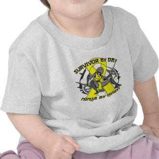 Sarcoma Survivor By Day Ninja By Night Shirts
