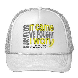 Sarcoma Survivor It Came We Fought I Won Trucker Hat