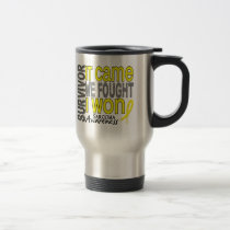 Sarcoma Survivor It Came We Fought I Won Travel Mug