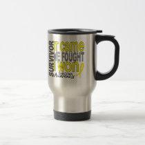Sarcoma Survivor It Came We Fought I Won Travel Mug