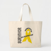 Sarcoma Survivor Large Tote Bag