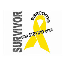 Sarcoma Survivor Postcard