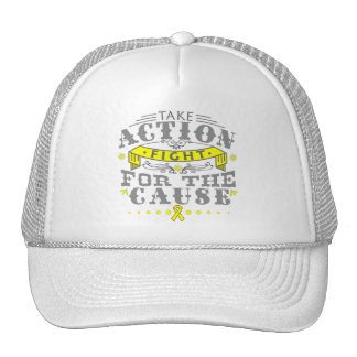 Sarcoma Take Action Fight For The Cause Trucker Hat
