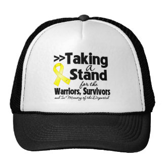 Sarcoma Taking a Stand Tribute Hats