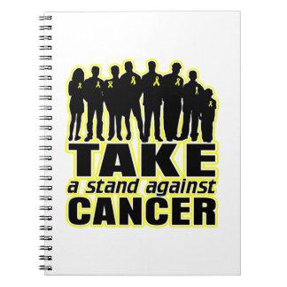 Sarcoma - tome un soporte contra cáncer libretas