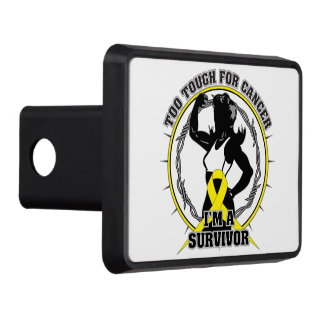 Sarcoma Too Tough For Cancer Tow Hitch Cover