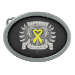 Sarcoma Victory Oval Belt Buckles
