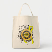 Sarcoma Warrior 23 Tote Bag