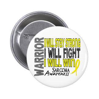 Sarcoma Warrior Pinback Button